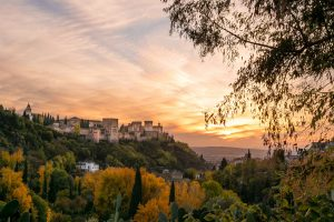 Granada, Spain: Birthplace of Manuel Aguilar from By Light of Hidden Candles