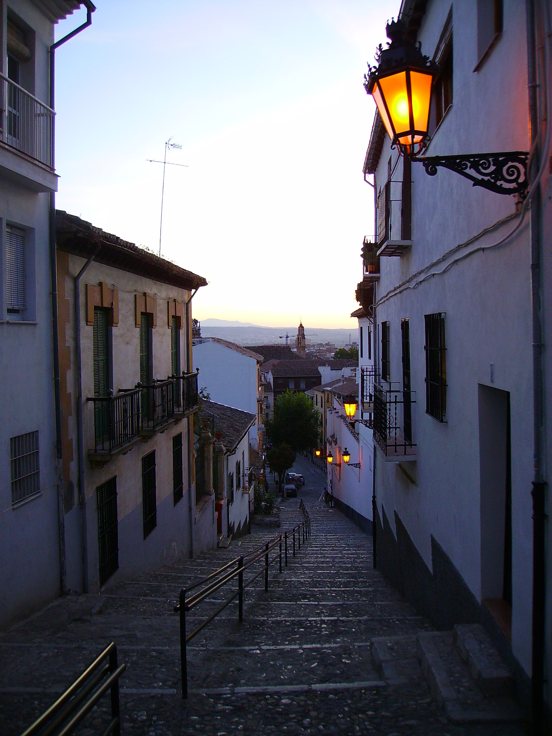 photo of realejo district granada spain