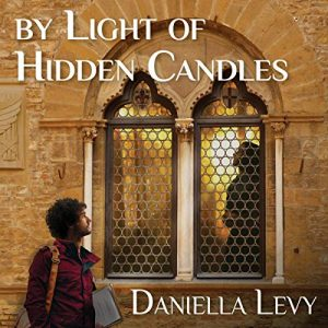audiobook cover image of by light of hidden candles